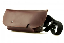 MESSENGER BAG (XS)/OILED BURGUNDY