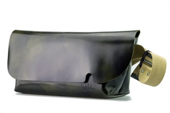 MESSENGER BAG (M)/DARK GREEN
