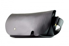 MESSENGER BAG (S)/LS-BLACK