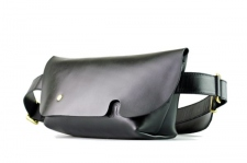 MESSENGER BAG (XS)/LS-BLACK-FAS