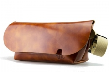 MESSENGER BAG (M)/CAMEL-FAS