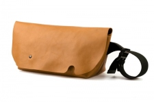 MESSENGER BAG (S)/LITE BROWN-FAS
