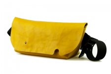 MESSENGER BAG (S)/BROWNY YELLOW-FAS