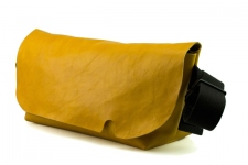 MESSENGER BAG (M)/BROWNY YELLOW-FAS