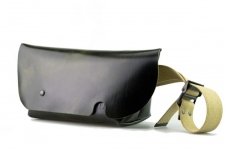 MESSENGER BAG (XS)/DARK GREEN-FAS