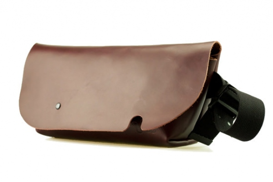 MESSENGER BAG (S)/OILED BURGUNDY-FAS