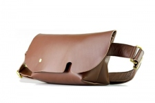 MESSENGER BAG (XS)/LS-BROWN-FAS